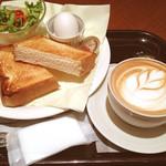 エクセシオール カフェ - トーストセット