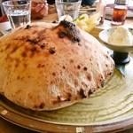まるき - マスカルポーネの風船ピザ