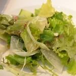 トラットリアボッソ - サラダ。