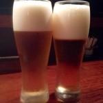 酒坊 おさ田 - 1時間30分コース(3000円)・生ビール