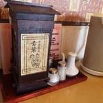 中華飯店青葉 - 味がある箸入れ(^^)