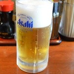 25921837 - 生ビール (中) 350円。