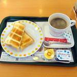 モスバーガー - 朝モストーストセット290円