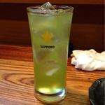 勝元 - 緑茶ハイ ¥390 (外税)