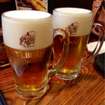 25922850 - エビス生ビール ¥550×2 (外税)