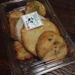 新兵衛屋 - 料理写真:揚げ天盛り合わせ(彩り)1000円