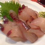 大原食堂 - とび魚の刺身