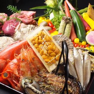 鮮魚専門店顔負けの鮮度&職人の技