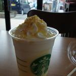 スターバックス・コーヒー - 料理写真:クリーミーバニラフラペチーノ(トール、529円)