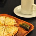 Mole & hosoi coffees - Moleブレンドスペシャルと特製クロックムッシュ