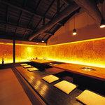 京の焼肉処 弘 - ご宴会にも最適なテーブル席です