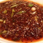 """喜臨軒 -  自家製""""豆腐花""""仕立ての麻婆豆腐"""