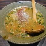 天雷軒 九段下 - 海老薫味噌拉麺
