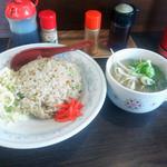 蘭蘭 - 炒飯セット(840円)