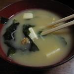 てんまさ - 納豆汁