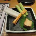 腹黒屋 - ウニ豆腐