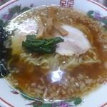 まるやま - 料理写真:醤油ラーメン¥500