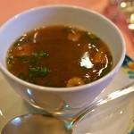 ビストロ・オブリン - 牛テールと鹿のスープ