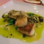 ビストロ・オブリン - メインの魚料理