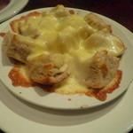 ル・ペリカン・ルージュ - とろけるチーズのパン