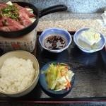 25936198 - A5仙台牛サーロインステーキ定食