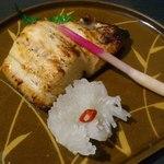 25938426 - 【2014年02月】根ぼっけ味噌漬け焼@990円。