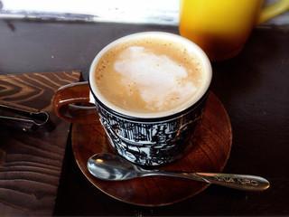 夕空コーヒー - カフェラテ290円