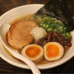 札幌 Fuji屋 - #106 @豚ソバ醤油/味玉830円