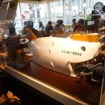 ハンズカフェ - 「しんかい6500」の模型