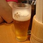 初代だるま - セットはビールも選べます