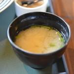 清旬の郷 - 味噌汁