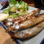 鳥吉 - シシャモ450円