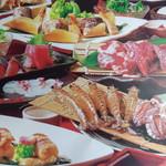 みなと屋 - みなと屋海の幸満喫コース3000円より、お料理はご予算などご相談に応じます、飲み放題プランをつけるともう最強メニューに変身!