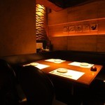 個室居酒屋 番屋 - 2〜4名様用のテーブル個室