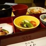 さんるーむ - 夏の京都 おばんざい御膳 1280円。
