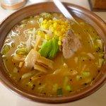 精華 - 料理写真:味噌ラーメン ¥650