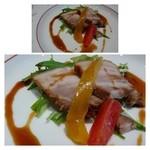 25947697 - 前菜・・豚の角煮。お味は普通です。