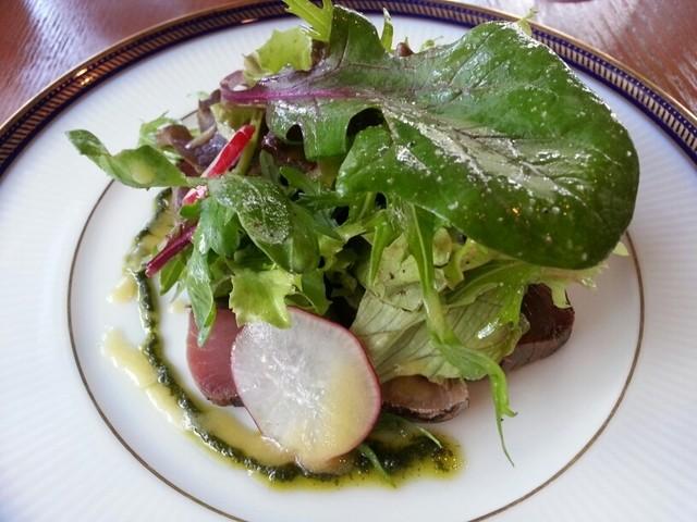 ラシェット - 歯鰹のスモークサラダ