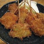 でんすけ - 料理写真:串揚げ