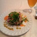 リストランテ カツ - 生ハムのサラダ