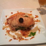 リストランテ カツ - 真鯛のカダイフ