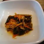 竹庵 - 鰯と昆布の甘煮