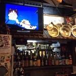 ど鍋や - 世紀の一戦!オリンピック、ワールドカップ・・・お鍋食べながら観戦できまっせ!普段は昭和な映像無音で流れてます~