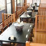 味喰笑 - 宴会専用ちゃんこ場:2階桝席です。
