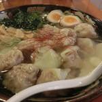 広州市場 五反田店 - 黒豚わんたん麺