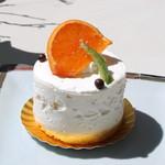カオリ ヒロネ - 柑橘のショートケーキ