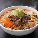 焼肉ぎゅうぎゅう - 名物料理「温麺」これを目当に来るお客様も多いのです。