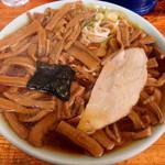 竹の家 - 201403 メンマラーメン大盛り950円