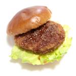 クローバー - 料理写真:ミンチカツバーガー (210円) '14 3月下旬