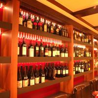 ビストロ フランベ - プチプラのがぶ飲みワインボトルワイン51種!グラスは480円(税抜)~ボトルは2430円(税抜)~ご用意!利きワイン670円(税抜)も♪